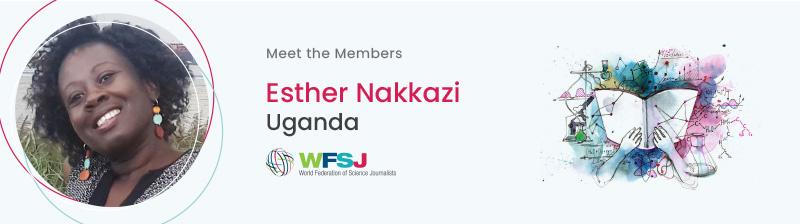 Esther Nakkazi, Uganda