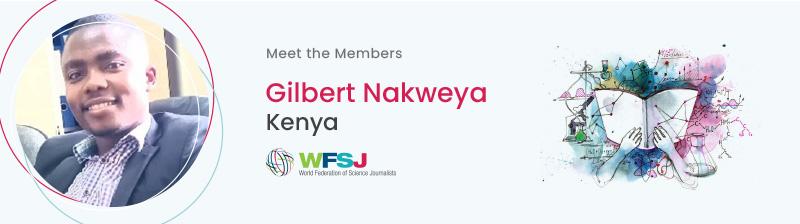 Gilbert Nakweya, Kenya
